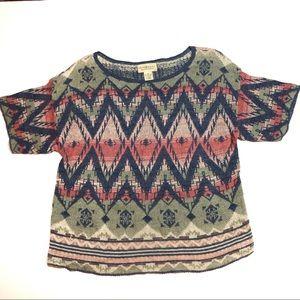 Denim & Supply Womens Sweater M Southwest Aztec